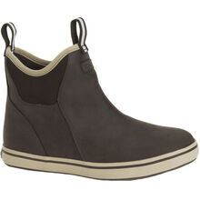 Men's Leather 6 in Ankle Deck Boot