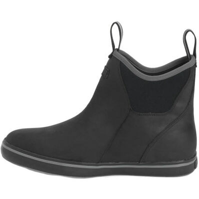 Men's Leather 6 in Ankle Deck Boot, , large