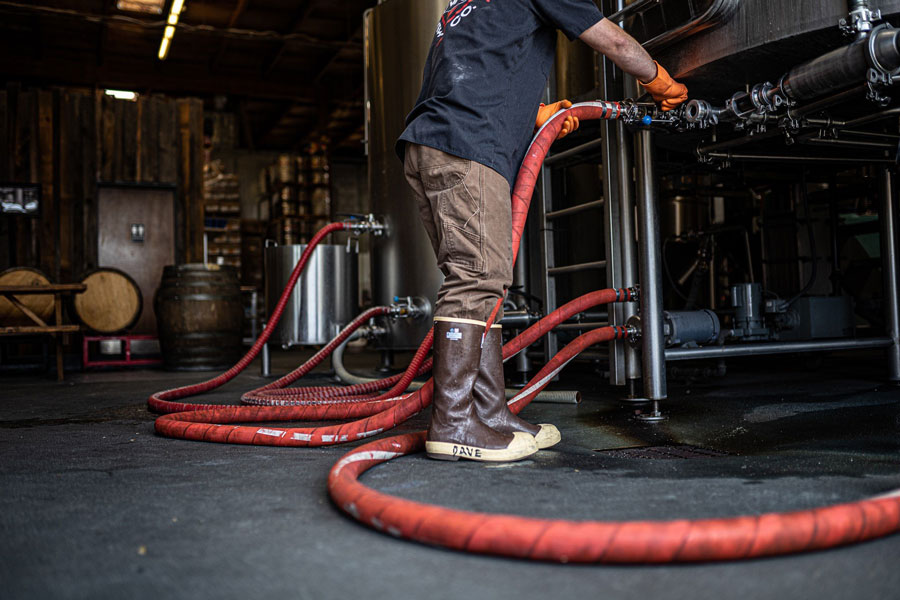 Wild Ride Brewer wearing Legacy Boot