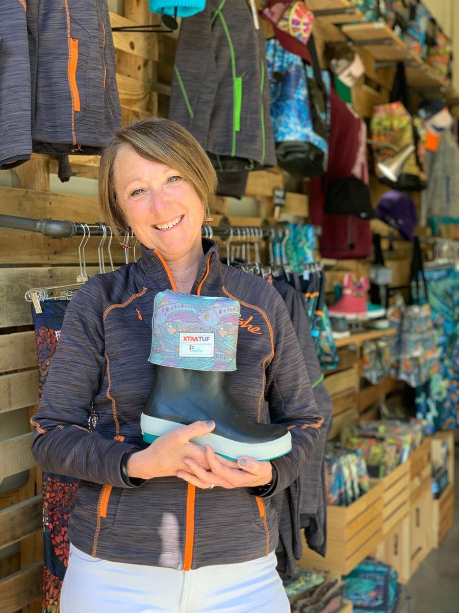 Fishewear's Linda Leary